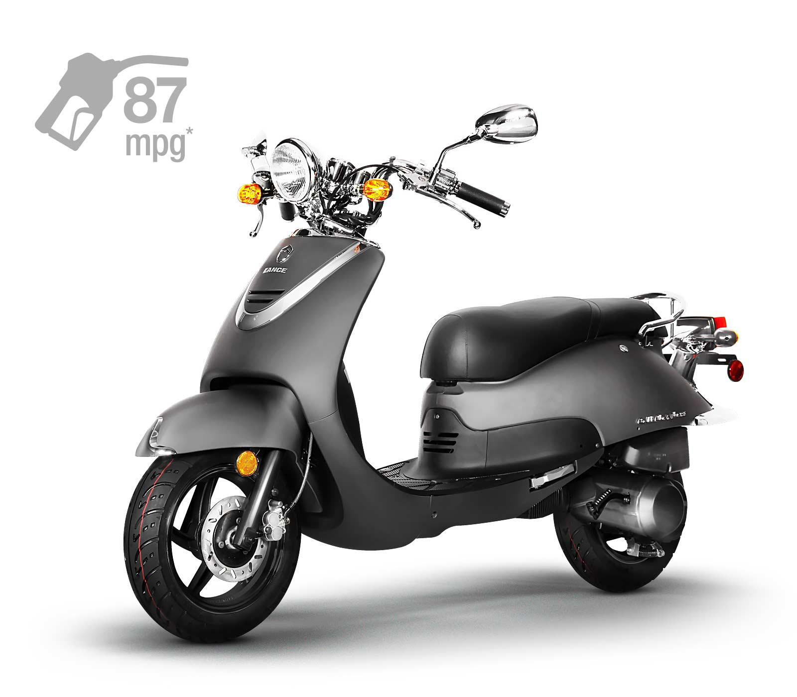 Lance Cali Classic L /& R Underseat Panels 49cc 150cc  Chinese SCOOTER 5033 5035